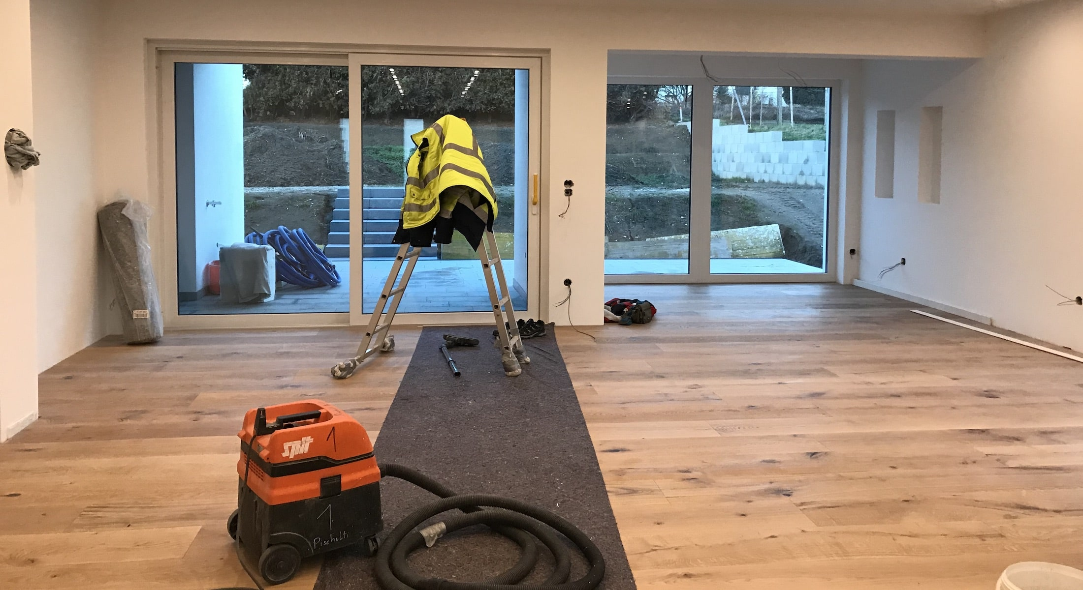 Vorher/Nachher: Home Staging Exklusives Neubau-Einfamilienhaus